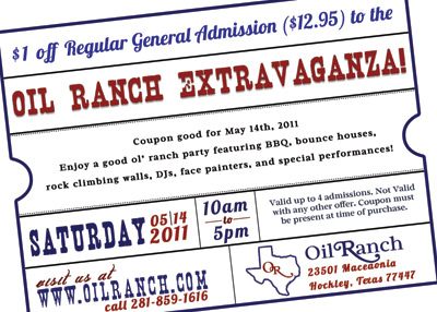 Oil Ranch Coupon